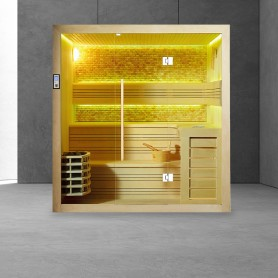 Sauna Boreal® Evasion Stone 5 places - 200x170x210