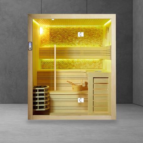 Sauna Boreal® Evasion Stone 3-4 places - 180x150x210
