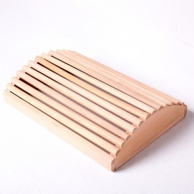repose tête pour sauna