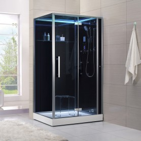 Cabine douche Hammam Archipel® 120D (120x90cm)