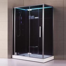 Cabine douche Hammam Archipel® 150D (150 x 90 cm)