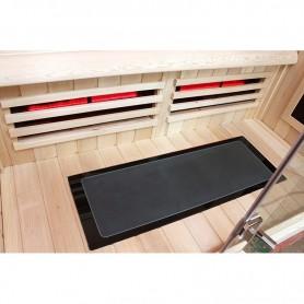 Sol en verre chauffant XL pour sauna Boreal 160