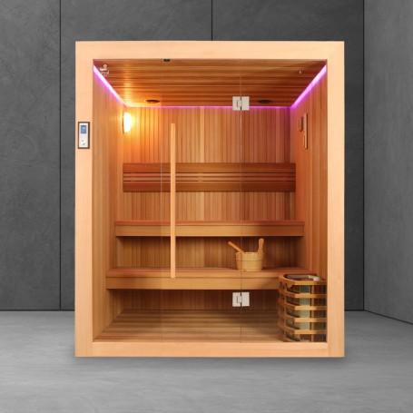 Sauna Boreal EVASION 160-2B - Mise en situation