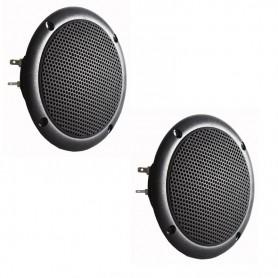 Deux hauts parleurs pour hammam - couleur NOIR