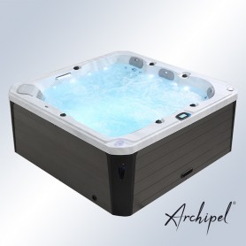 Spa Archipel® GT5 Thérapeutique - Jacuzzi Balboa® 5 places 215 x 215 cm