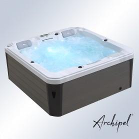 Spa Archipel® GT3 Thérapeutique - Jacuzzi Balboa® 3 places allongées 200 x 200 cm