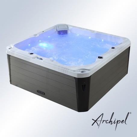 Spa 5 places allongées Archipel® GR5 - plug&play branchement direct en 16A