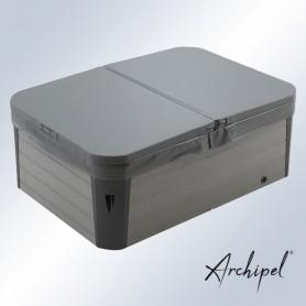 Couverture grise pour spa Archipel GR2/GT2