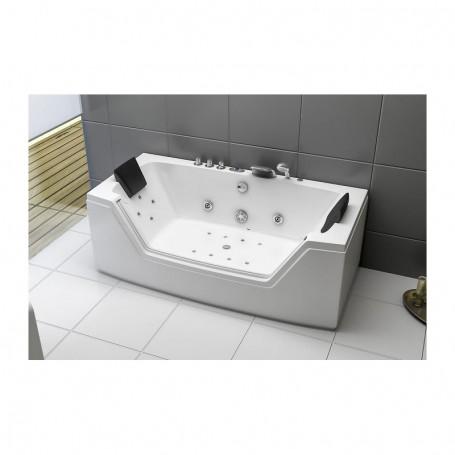 Baignoire balneo rectangulaire LITTLE RIVIERA - Zeland® 160x80
