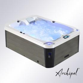 Spa Archipel® GT2 PERLE Thérapeutique - Jacuzzi Balboa® 2 places allongées 210 x 148 cm