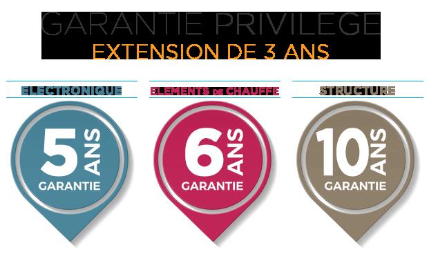 Extension de 3 ans - Garantie Privilège