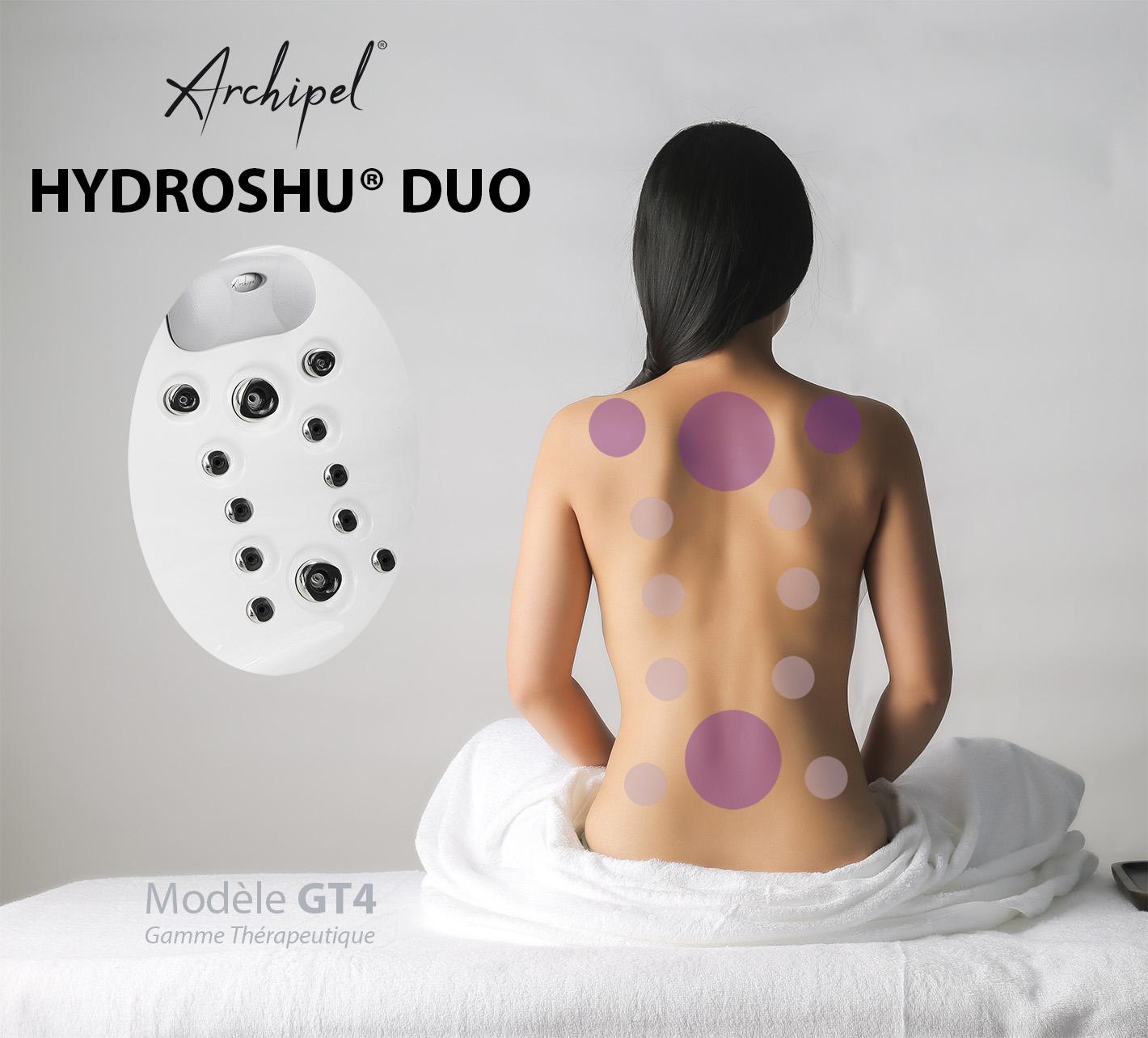 Hydroshu Duo - place thérapeutique duo exclusivité Archipel GT4